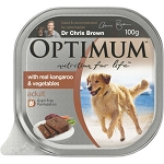 Optimum Adult Dog Food Kangaroo and Vegetables