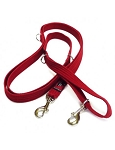 Black Dog Double Ended Dog Lead