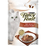 Fancy Feast Adult Cat Food Beef Salmon and Cheese
