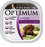 Optimum Puppy Food Chicken, Vegetable and Rice