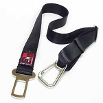 Black Dog Car Seat Belt Strap
