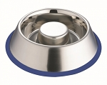 Slow Feed Dog Bowl - Stainless Steel