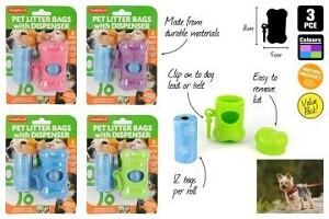 Dog Poo bags and Dispenser