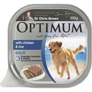 Optimum Adult Dog Food Chicken and Rice