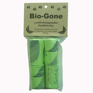 Biodegradable Dog and Cat poo bags.