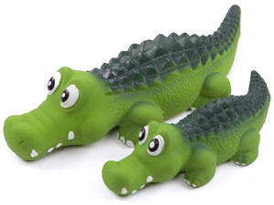 Kazoo Latex Crocodile Dog Toy