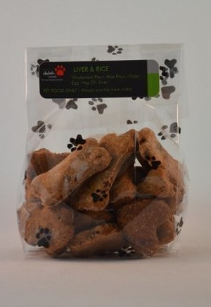 Liver and Rice dog Treats
