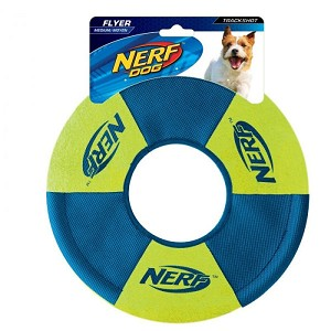 Nerf Dog Toss and Tug Ring Dog Toy